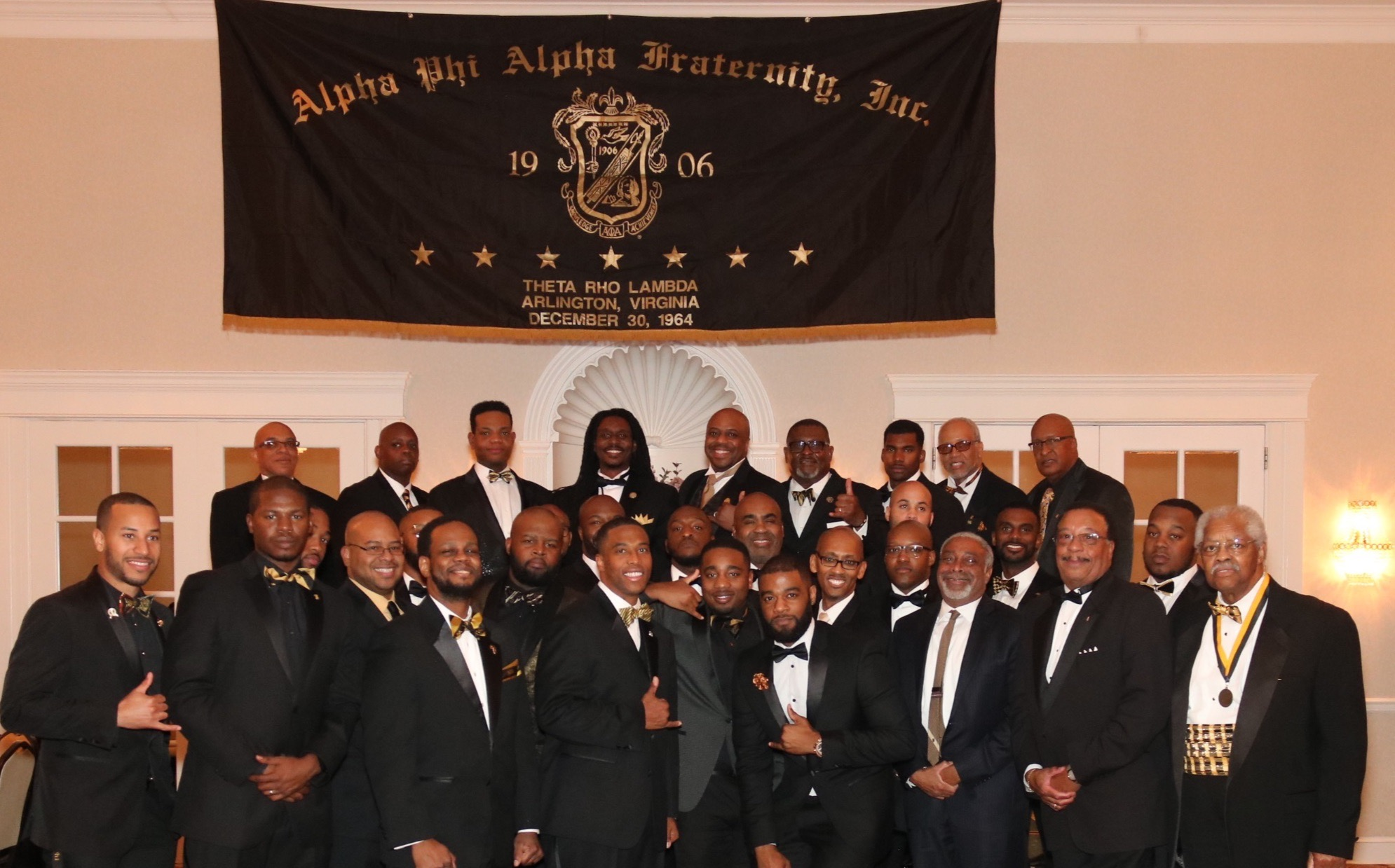 Theta Rho Lambda 2017 Black and Gold Ball